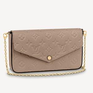 BNWT Louis Vuitton Pochette Félicie Empriente